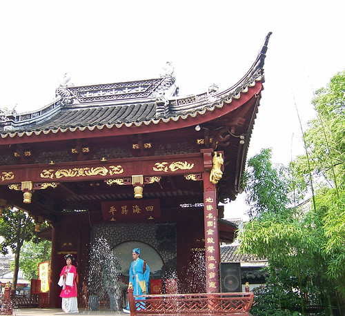 geo:lat=3116025300 geo:lon=12071520100 geotagged china chn jiangsu pavillon show tongli tuisigarten 中国 亭子 同里 歌舞 江苏 退思园