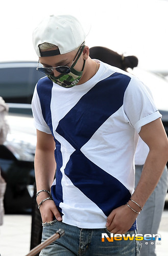 BIGBANG Incheon Airport to Shanghai Press 2015-06-19 049