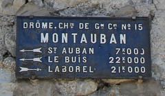Montauban-sur-l'Ouvèze, Drome