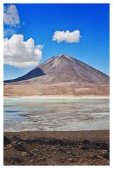 Licancabur desde el lado Boliviano