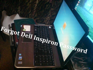 forgot dell inspiron password