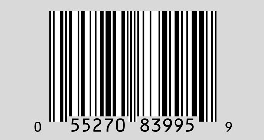 Complete UPC bar code