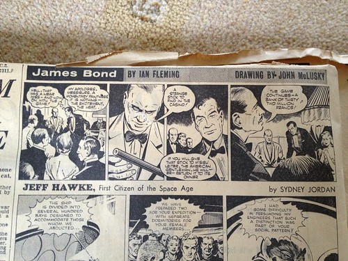 James Bond, Casino Royale Comic Strip in the Daily Express