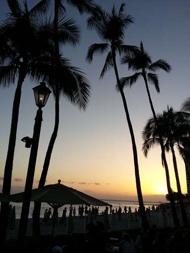 Waikiki sunset, Easter 2013 by ** Gudenius **