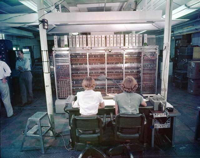 1952 MANIAC-I supercomputer