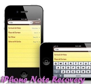how to recover iphone notes when deleted it
