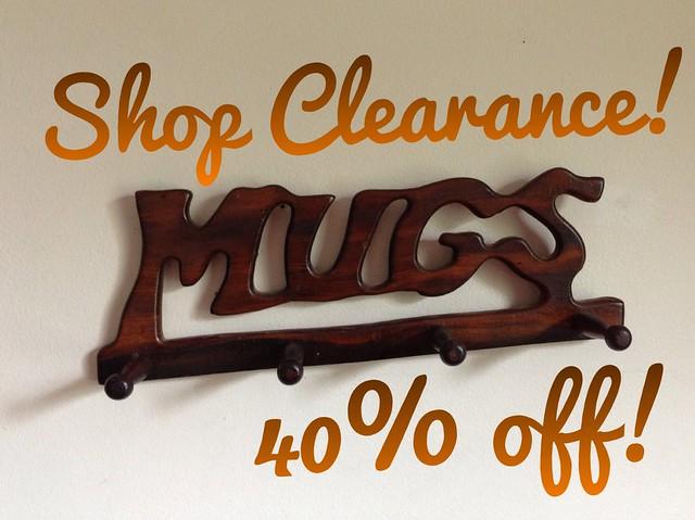 Etsy Vintage Shop Clearance Sale • 40% Off!
