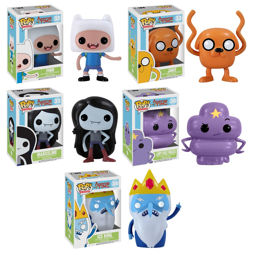 Pop Television Adventure Time From Funko Bott Bvs Aquaman Blue Ie