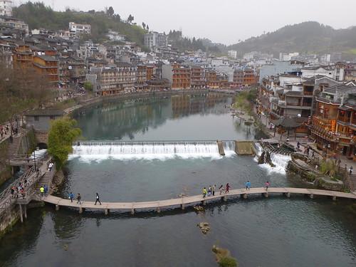 Hunan13-Fenghuang-Ville-Rive Nord (18)