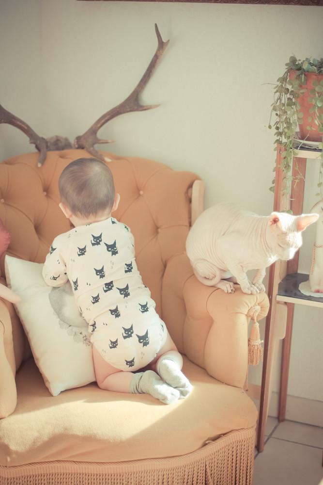 bébé style vintage