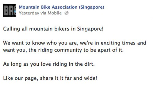Mountain Bike Association (Singapore)