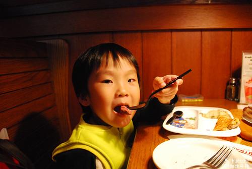 宇哥吃了不少塊