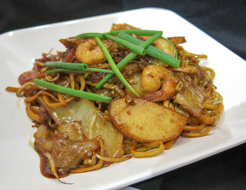 Char Kway Teow at Singapore Food Street