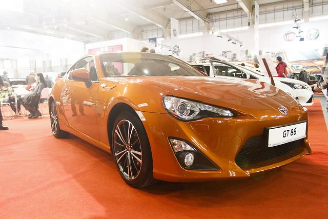 Toyota GT86 - Motor Show Poznań