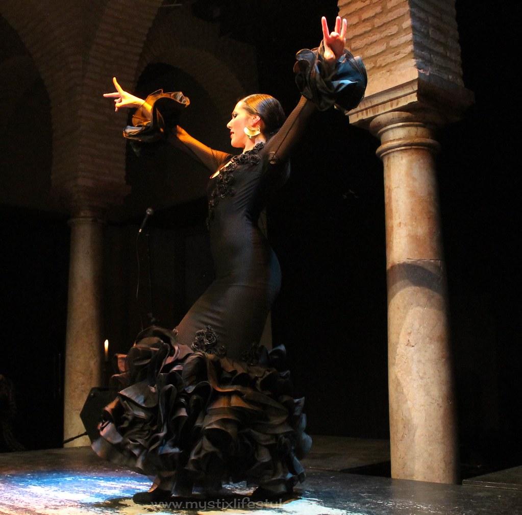 traje flamenca elegante