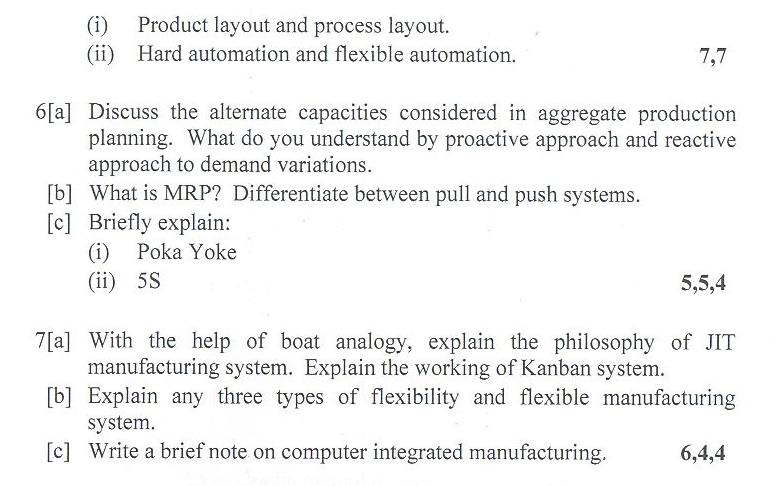 DTU Question Papers 2010 – 6 Semester - End Sem - PE-313