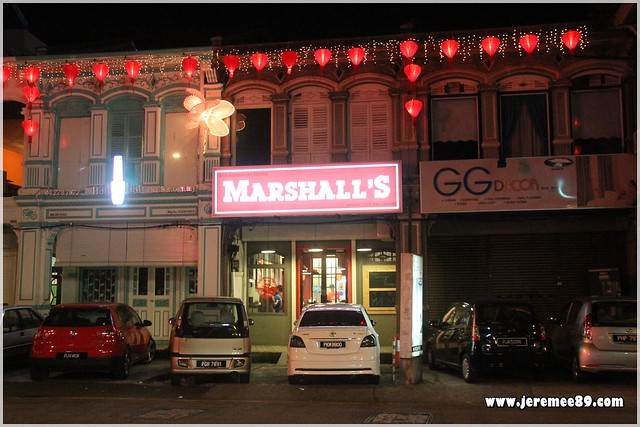 Marshalls Burger @ Burmah Road