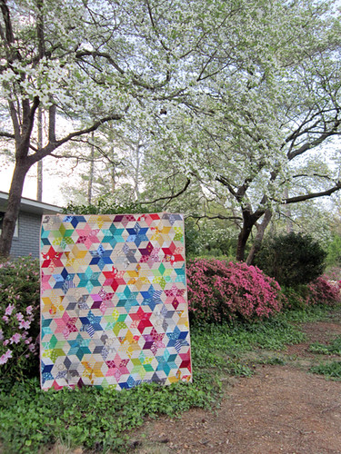 Starbright Quilt, finished!