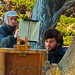 Painters at Point Lobos near Monterey California (75mm / 112mm; 1/30; f/10)