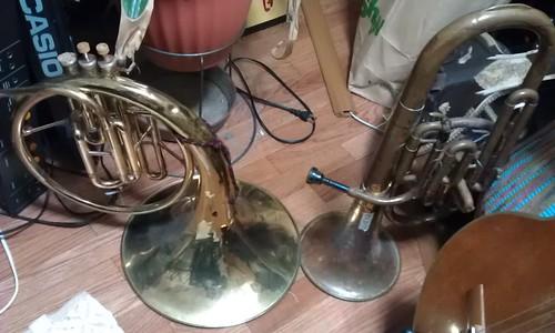 Nikkan Alto Horn, YAMAHA Mellophone YMP-201, by Kanda Mori
