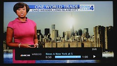 NBC 4 Featured my WTC and Sun reflection shot
