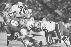 Dallas Cowboys legend Lee Roy Jordon - 1963 first round draft pick - Played with numbers 54 and 55 - The Boys Are Back blog