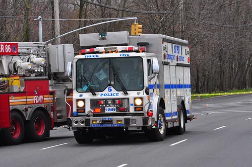 NYPD ESU Truck 5