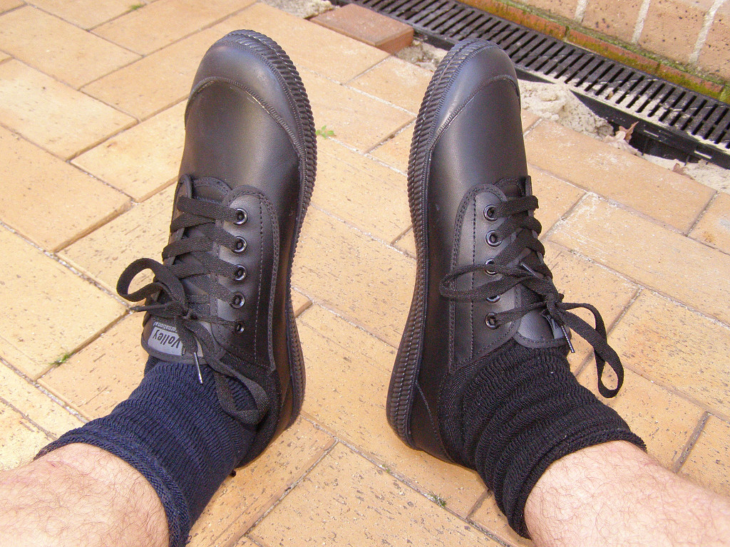 Leather Dunlop Volleys