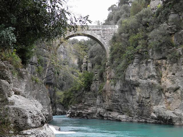 Eurymedon Bridge (Selge), Pisidia, Turkey