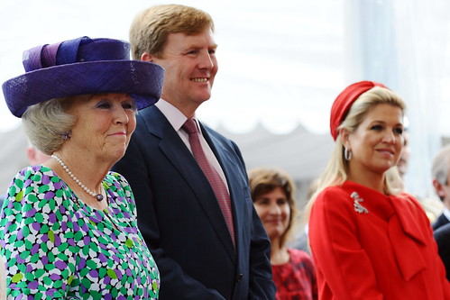 Queen Beatrix, Willem-Alexander & Maxima of The Netherlands