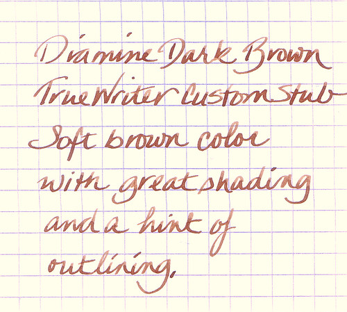 Diamine Dark Brown Ink