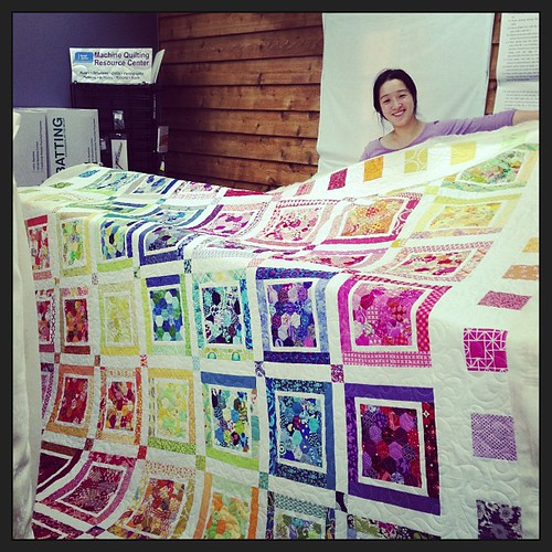 Our faithful quilter! #sydmqg