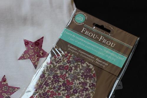 Tissu thermocollant Frou-Frou