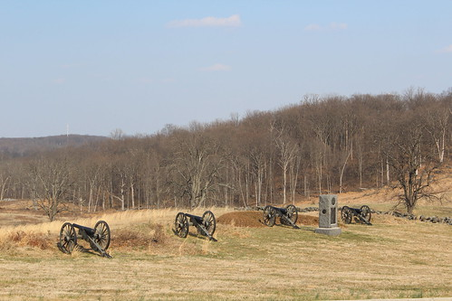 union guns east cemetery hill