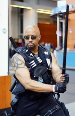 Blade Cosplay - Awesome Con DC 2013