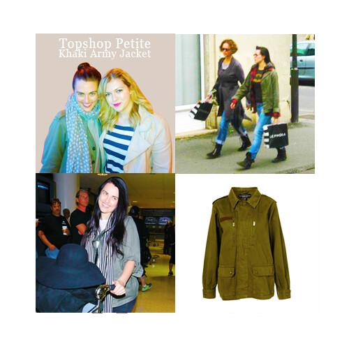 Topshop-Petite-Khaki-Army-Jacket
