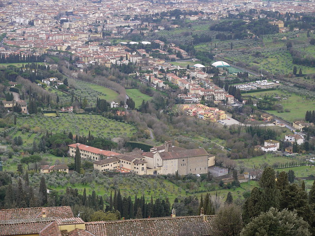 View of Badia and EUI Housing from Fiesole