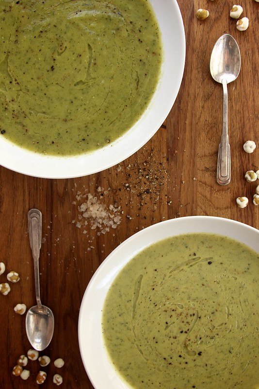 Creamy Zucchini Tarragon Soup