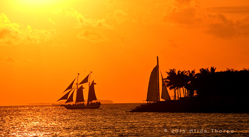 key west sunset by Alida's Photos
