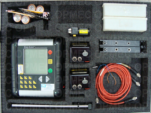 Sistema de Alinhamentos à Laser DAMALINI, modelo EASY-LASER D450