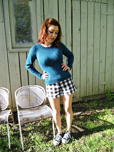 Peacock Pullover