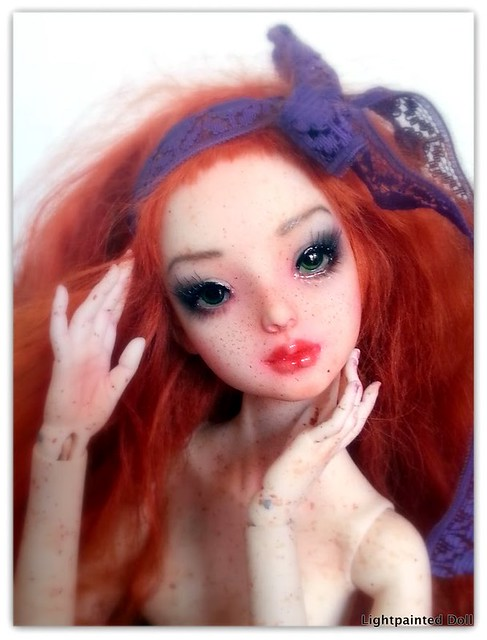 Enchanted Doll in resin