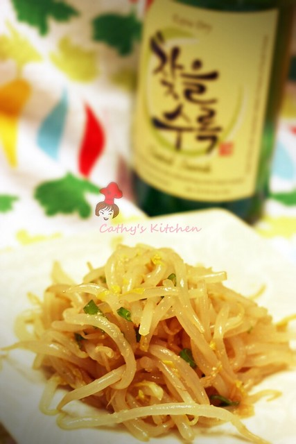 韓式涼拌豆芽 Soybean Sprout MuChim  4