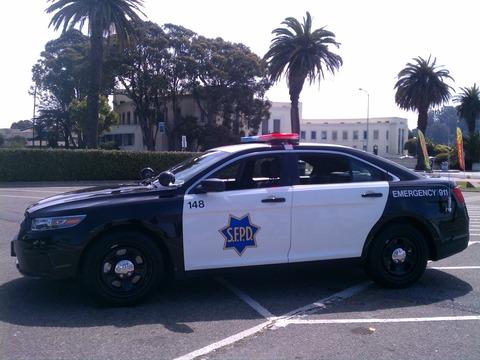 2012 Ford Taurus San Francisco Police Department