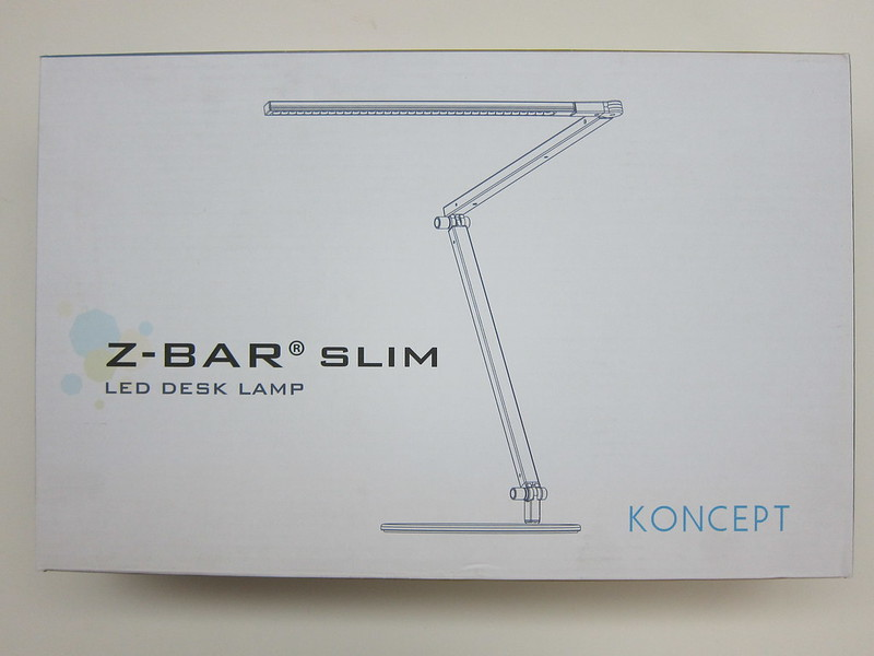 Koncept Z-Bar Slim LED Desk Lamp - Box Front