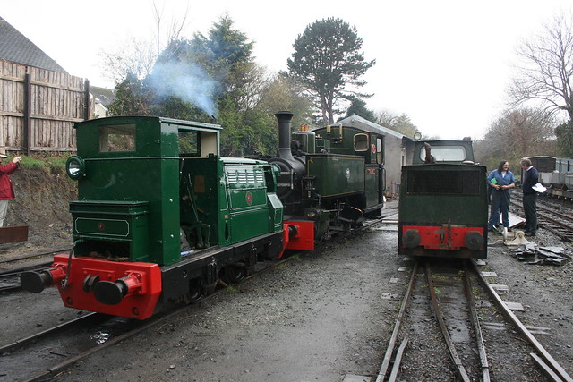 Midlander, Tom Rolt and No 10 in Pendre yard