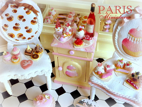 Miniature Pastries - Handmade Miniature Food