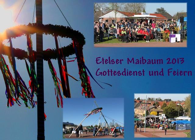 Maibaum & Gottesdienst 2013