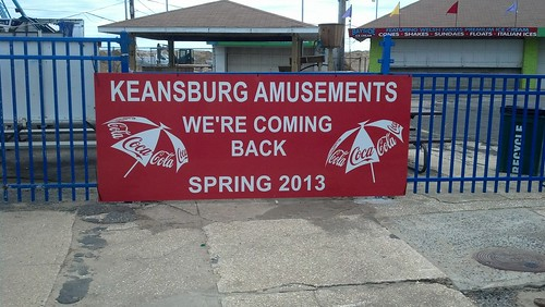 Keansburg Amusements: We're Coming Back