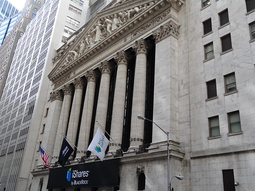 New York Stock Exchange (NYSE), centre of global capitalism